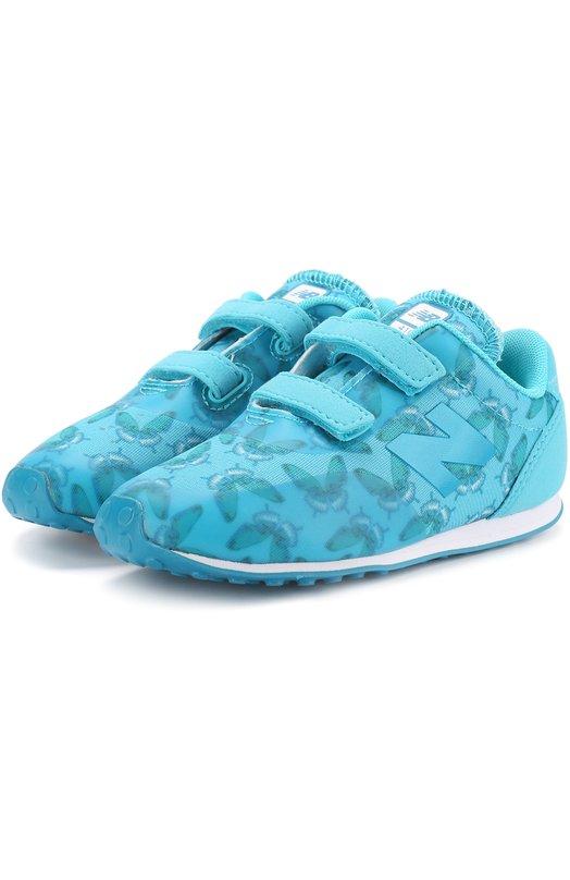 Купить Комбинированные кроссовки 410 с застежками велькро New Balance Вьетнам HE00369058 KA410BHI/M