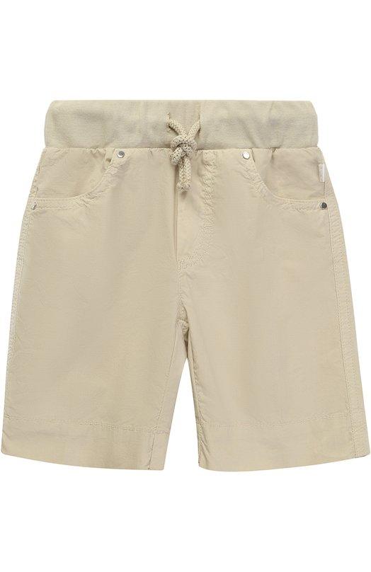Хлопковые шорты с эластичным поясом Il Gufo P17PB074/C6031/2-4