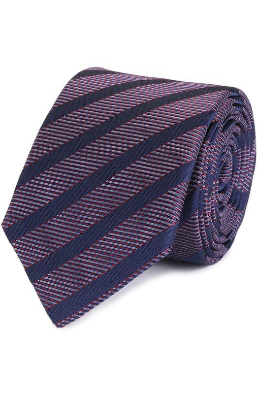 Шелковый галстук в полоску HUGO 50326766