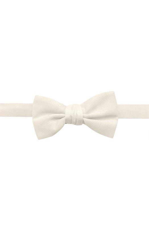 Шелковый галстук-бабочка Alexander McQueen 429160/4016Q