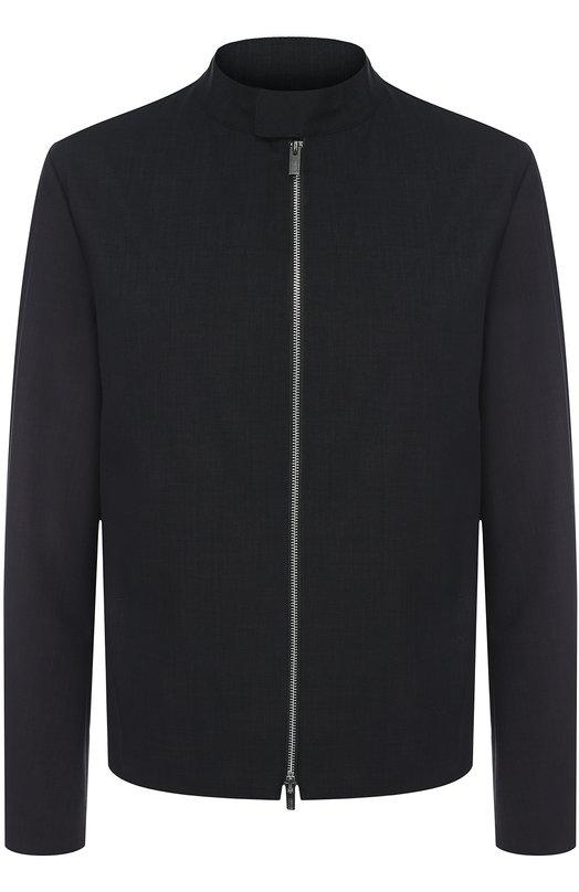 Куртка на молнии с воротником-стойкой Armani Collezioni VCR02W/VCW03