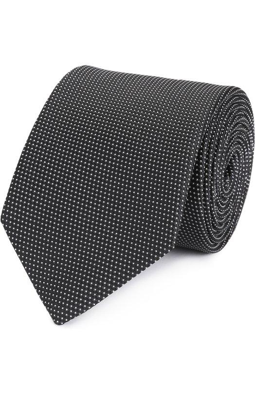 Шелковый галстук с узором Eton A000 27777