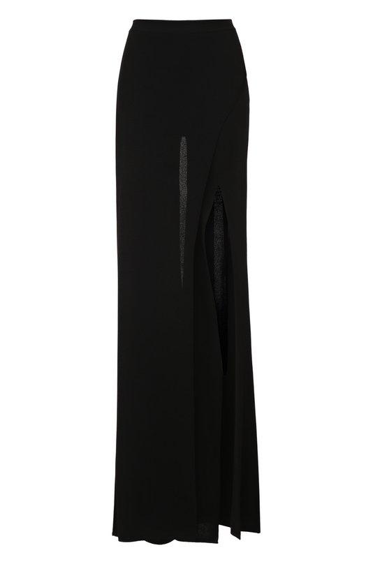 Широкие брюки с высоким разрезом Balmain 6499/758M
