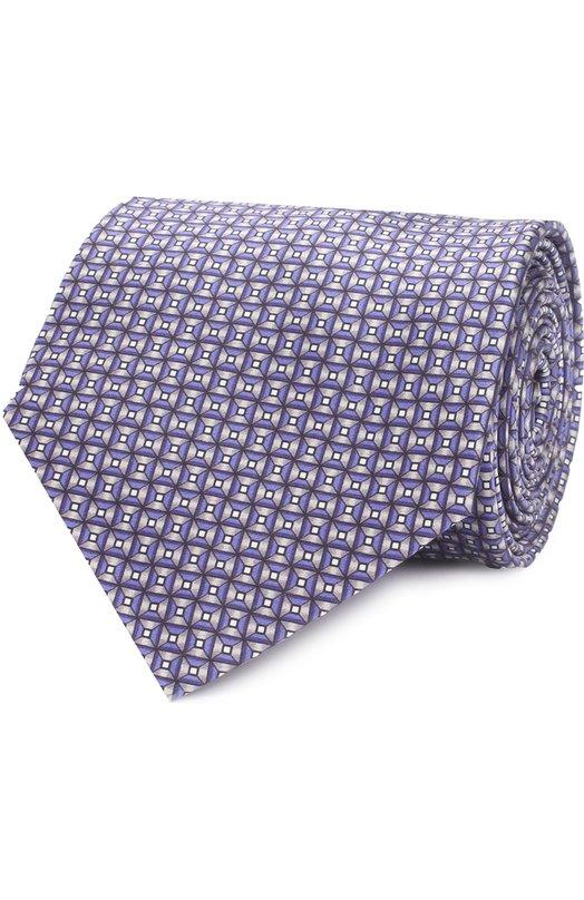 Комплект из шелкового галстука и платка Lanvin 4396/TIE SET