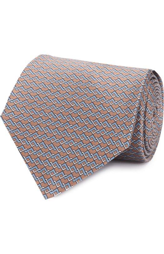Комплект из шелкового галстука и платка Lanvin 4399/TIE SET