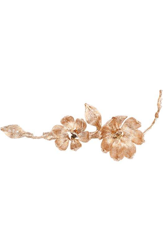 Заколка с цветочным декором Colette Malouf YRH/070/191/RGD