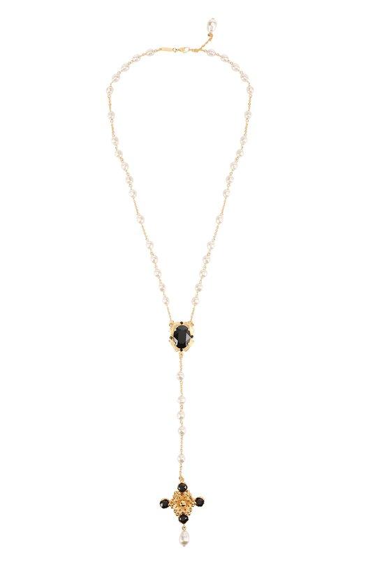 Подвеска с кристаллами Swarovski Dolce & Gabbana 0136/WNJ4C5/W0001