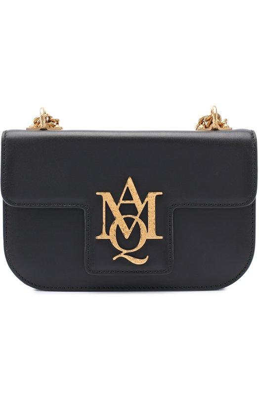 Купить Сумка Insignia Alexander McQueen, 469035/DZJ0T, Италия, Черный, Кожа натуральная: 100%;