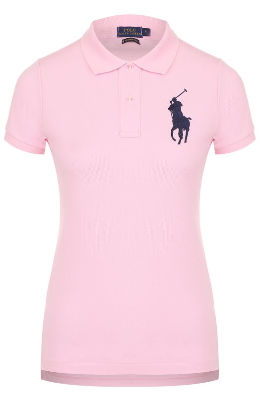 Поло с вышитым логотипом бренда Polo Ralph Lauren V38/I0BPP/C9416