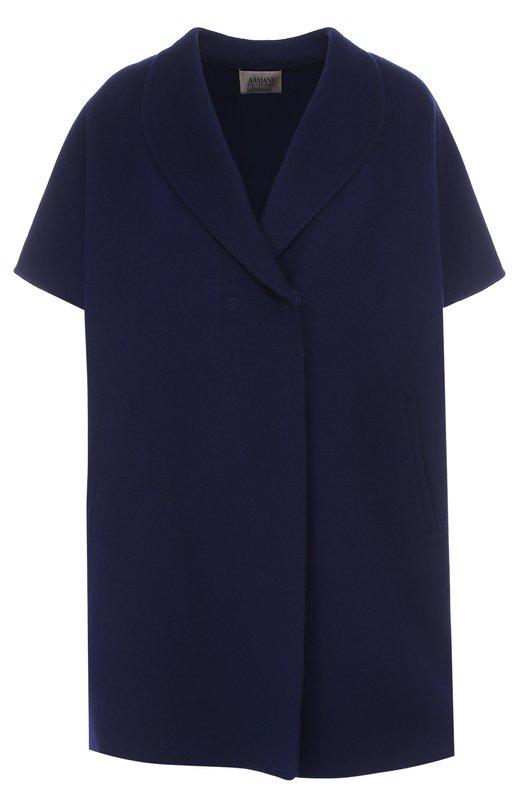 Пальто свободного кроя с укороченным рукавом Armani Collezioni VML17T/VM641