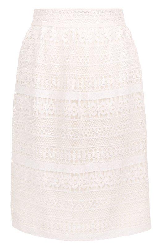Купить Кружевная юбка прямого кроя Burberry Польша 5165763 4048196