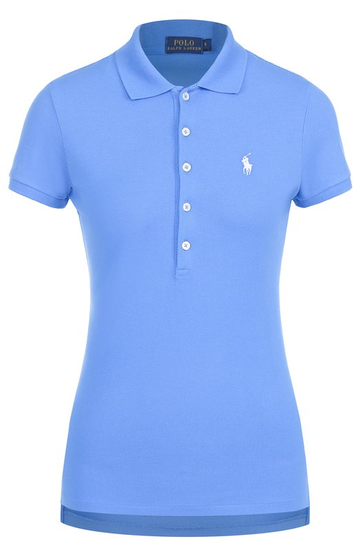 Поло с вышитым логотипом бренда Polo Ralph Lauren V38/I0JUP/B9415