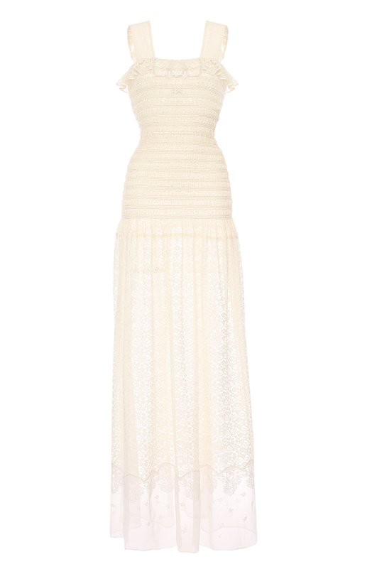Кружевное полупрозрачное платье-макси Stella McCartney 455676/SIA07