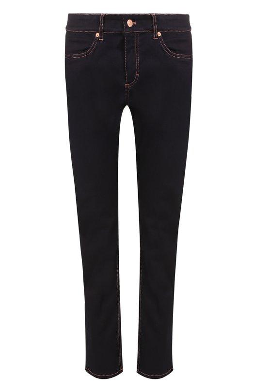 Укороченные джинсы-скинни с контрастной прострочкой Escada Sport 5019652