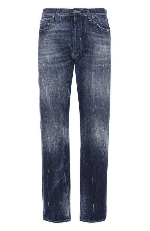 Джинсы свободного кроя с потертостями 2 Men Jeans AMERICA/NL6PM