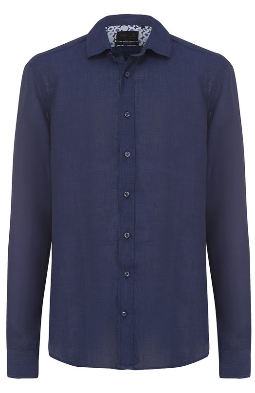 Льняная рубашка с воротником кент Sand 8823/SIM0N WP
