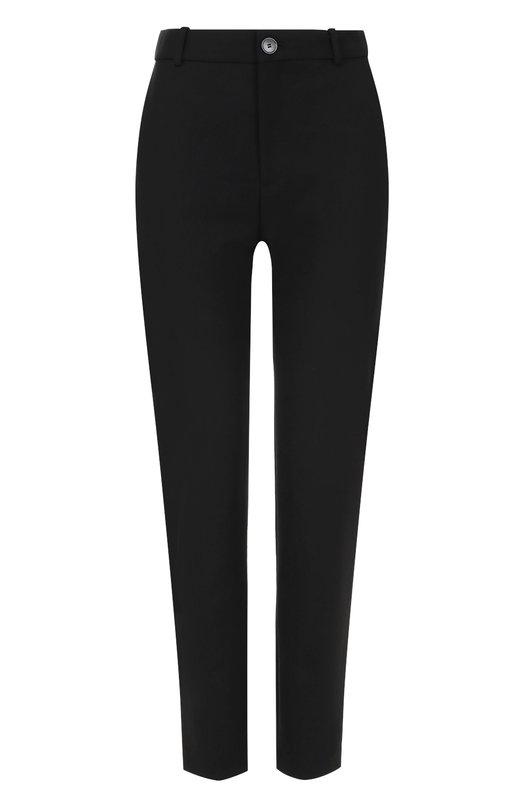 Укороченные брюки прямого кроя с карманами Balenciaga 479972/TSI17