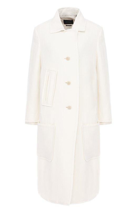 Пальто прямого кроя с накладными карманами Isabel Marant MA0249-17P004I/ELLERY