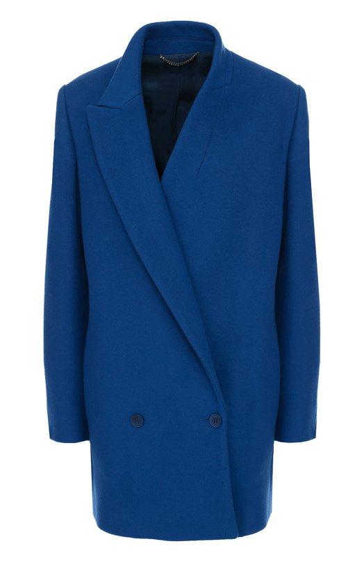 Двубортное укороченное пальто с асимметричными лацканами Stella McCartney 450635/SDB40