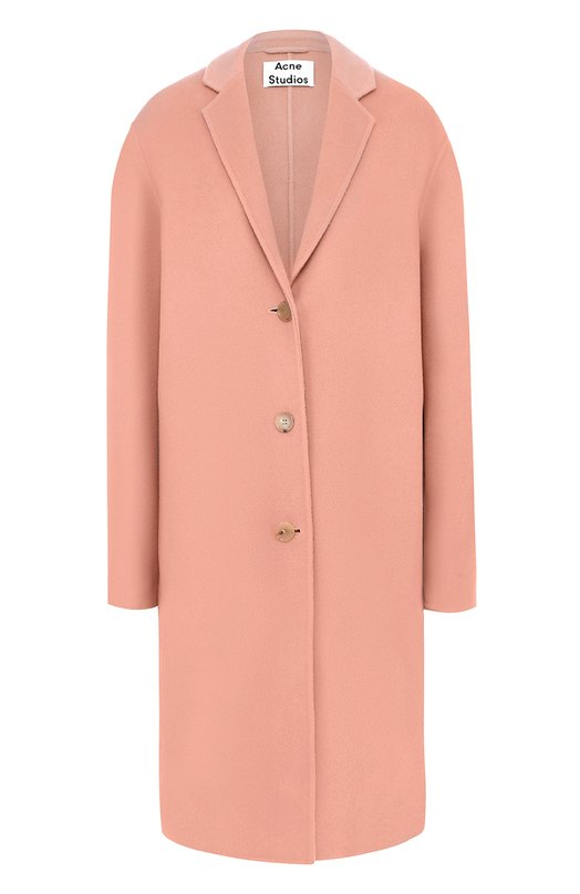 Пальто свободного кроя с узкими лацканами Acne Studios 12T166