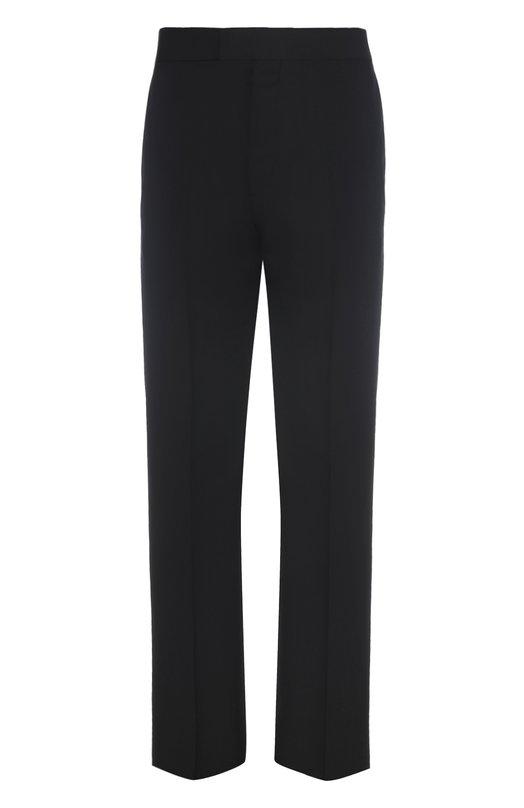 Шерстяные брюки прямого кроя Balenciaga 459768/TAI10