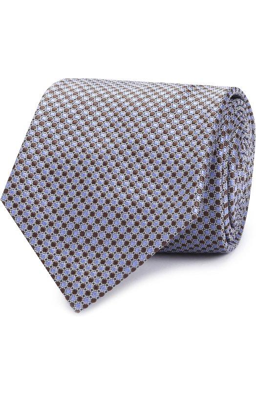 Купить Шелковый галстук с узором Brioni Италия 5171400 062H/06447