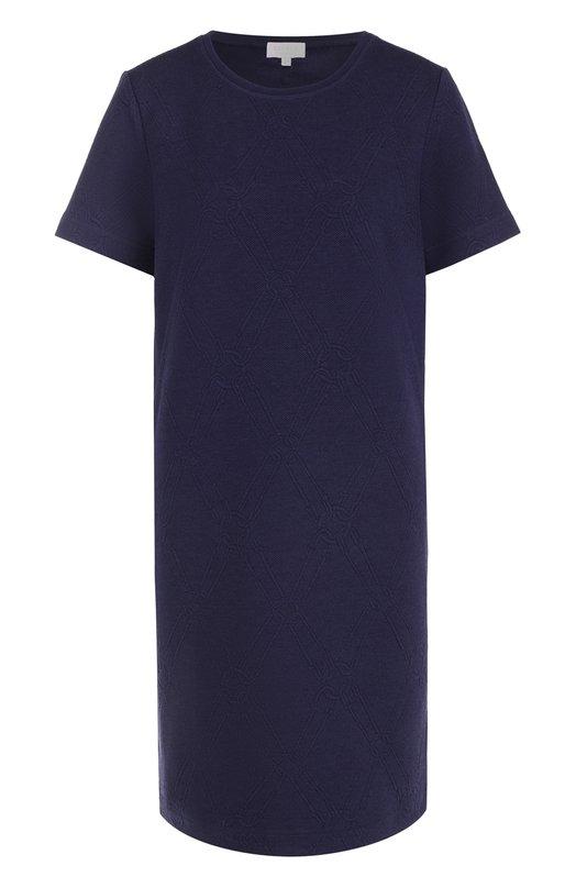 Мини-платье прямого кроя с круглым вырезом Escada Sport 5023611