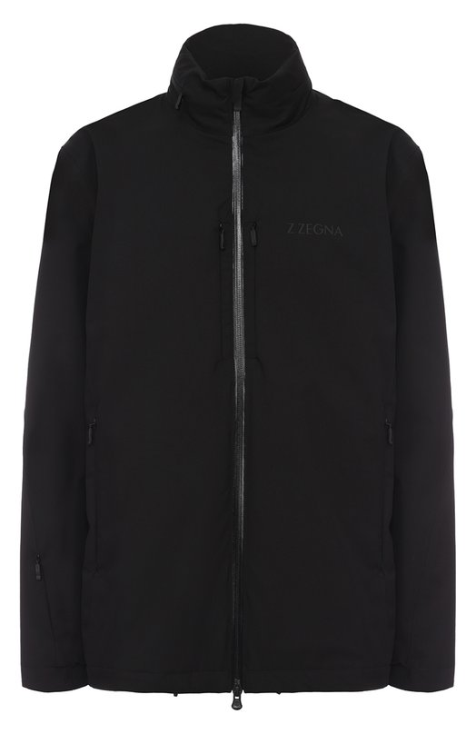 Куртка на молнии с воротником-стойкой Z Zegna VM051ZZT169
