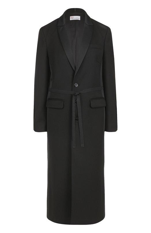Пальто прямого кроя с бантом REDVALENTINO NR3CA165/347