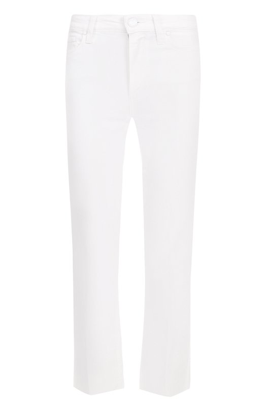 Купить Укороченные расклешенные джинсы Paige, 3109208-0WT, США, Белый, Хлопок: 98%; Эластан: 2%;