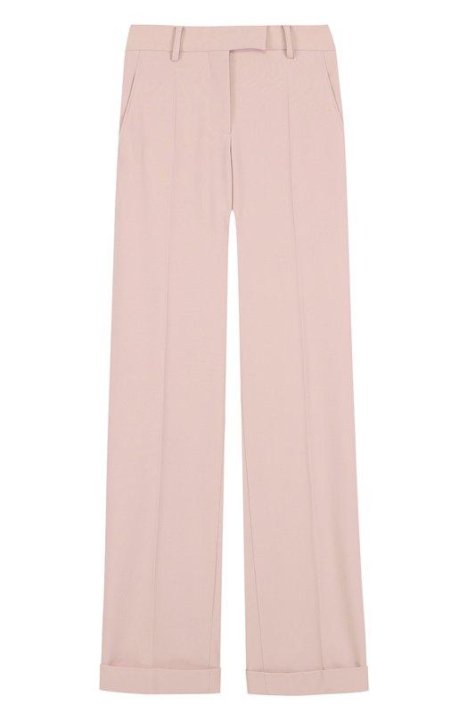 Широкие брюки со стрелками и отворотами Valentino