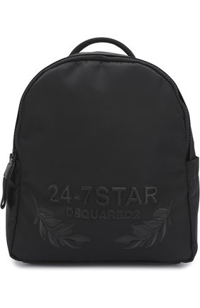 Рюкзак Star Icon small Dsquared2 черный | Фото №1