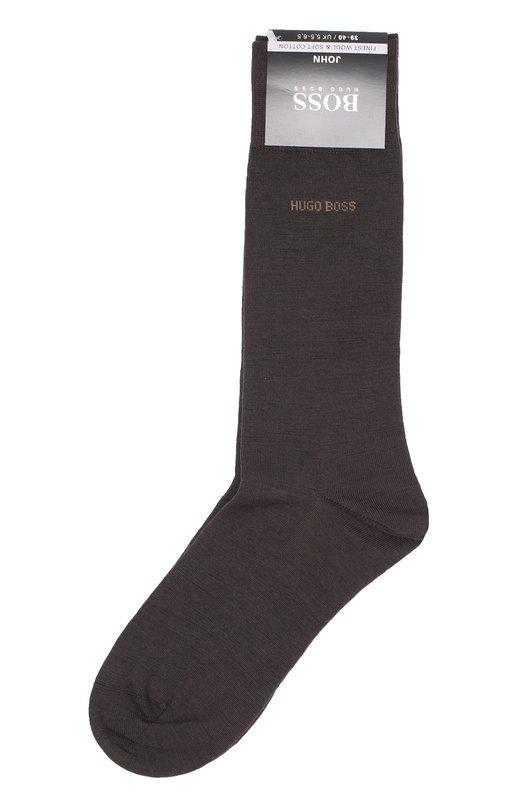 Носки из смеси шерсти и хлопка HUGO 50272219