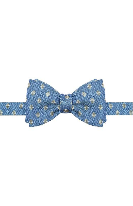 Шелковый галстук-бабочка с узором Eton A000 22005