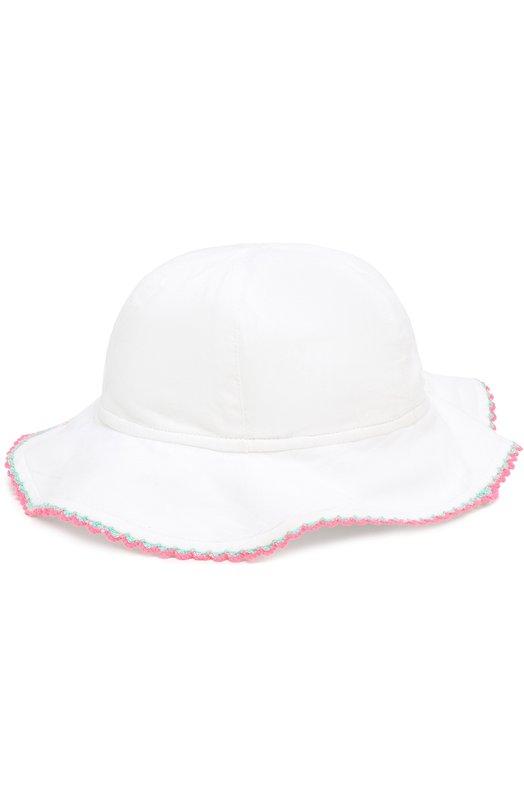 Купить Панама из хлопка с контрастной отделкой Sunuva, B7813, Индия, Белый, Хлопок: 100%;