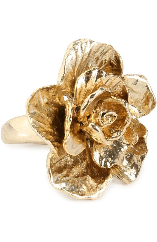 Кольцо с цветком Oscar de la Renta R17J424LGD