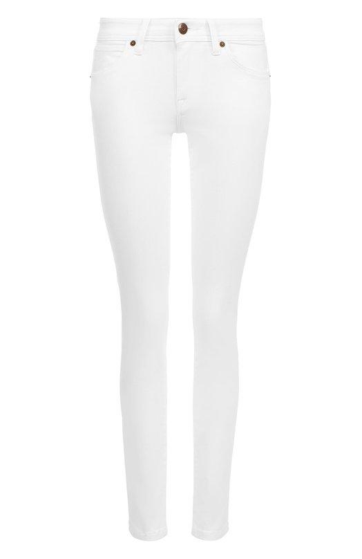 Однотонные джинсы-скинни Burberry 3946596