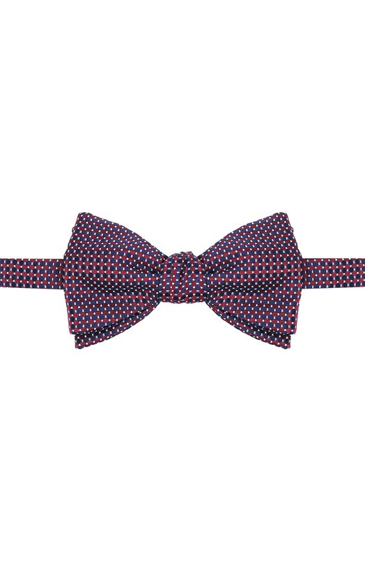 Шелковый галстук-бабочка с узором Eton A000 23006