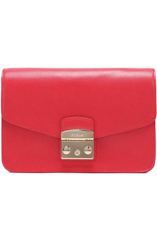 Купить Сумка Metropolis Furla, BHV7, Италия, Красный, Кожа натуральная: 100%;