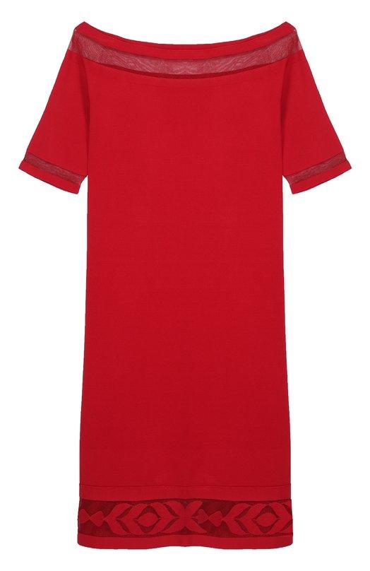 Мини-платье с полупрозрачными вставками D.Exterior 44093