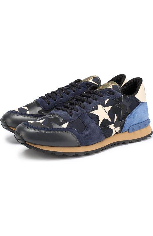 Комбинированные кроссовки Rockrunner Camustars Valentino NY2S0723/ANC