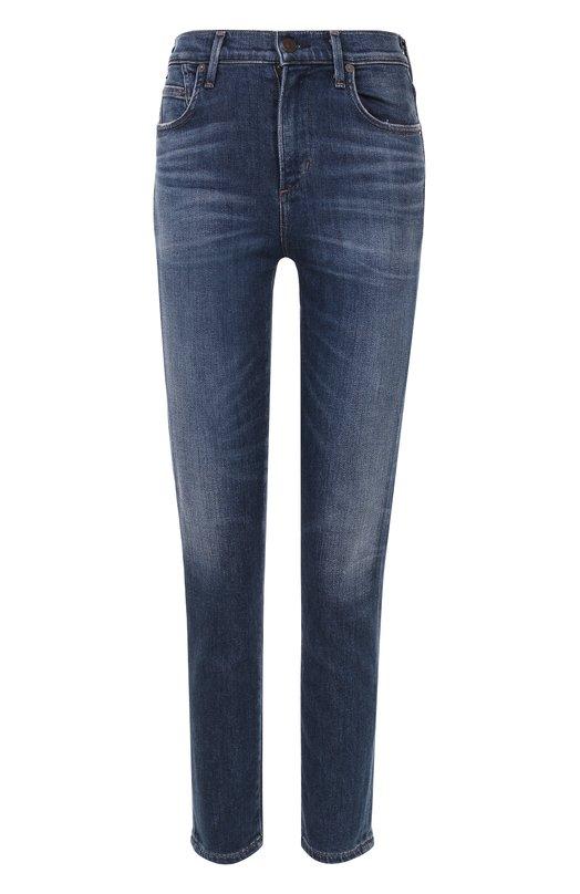 Укороченные джинсы с потертостями Citizens Of Humanity 1487C-790