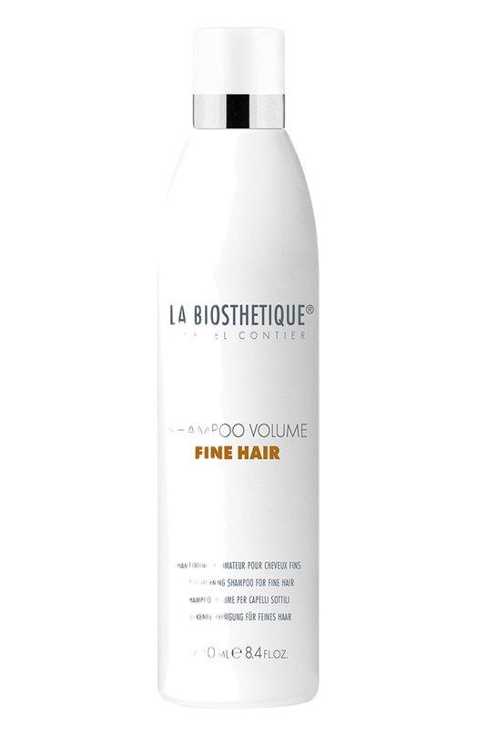 Купить Шампунь для придания объема тонким волосам La Biosthetique, 120728, Италия, Бесцветный