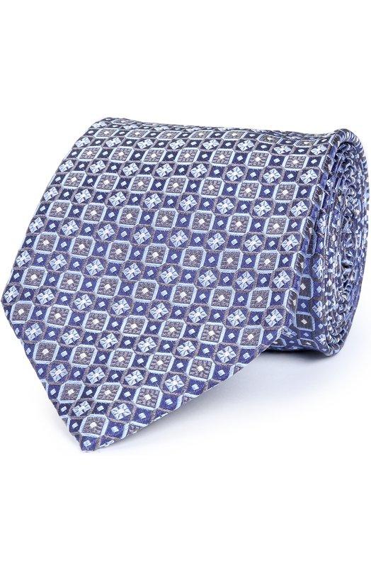 Купить Шелковый галстук с узором Brioni Италия 5173308 062I/06498
