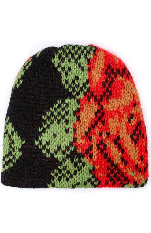 Вязаная шапка из шерсти Tak.Ori AC042 WA035PF17