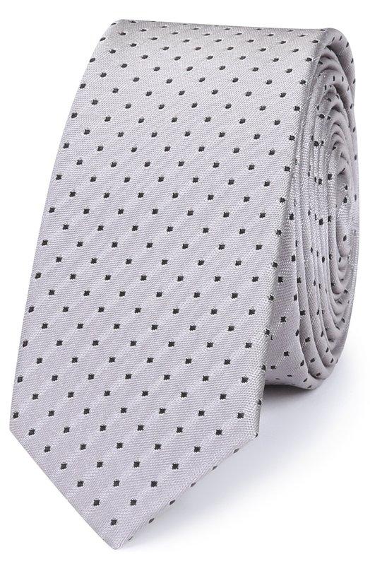 Шелковый галстук с узором Dolce & Gabbana 0135/GT142E/G0JEI