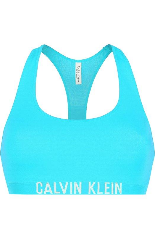 Бра с логотипом бренда Calvin Klein KW0KW00076