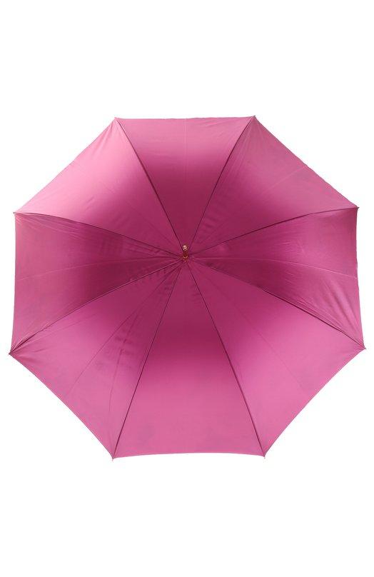 Зонт-трость с цветочным принтом Pasotti Ombrelli 189/RAS0 5D934/2