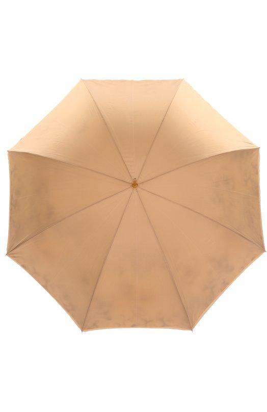 Зонт-трость с цветочным принтом Pasotti Ombrelli 189/RAS0 5R316/2
