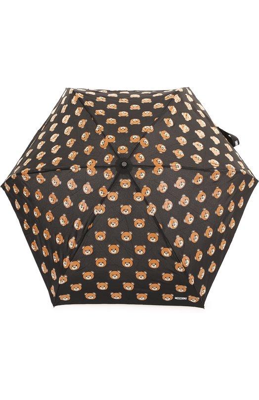 Складной зонт с брелоком Moschino 8085-SUPERMINI